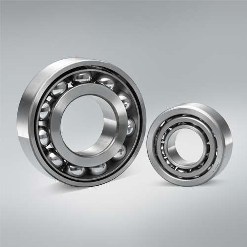 The new high capacity Angular Contact Ball Bearings are designed with larger balls to increase the fatigue life. Compared to conventional bearings the side bores are larger and the side shoulders are smaller. Major benefits is the increased clearance between inner ring and cage  improves the oil flow through the bearing (by 40 %).